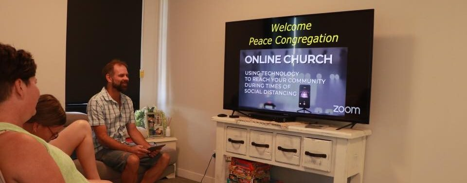 Participating in worship online